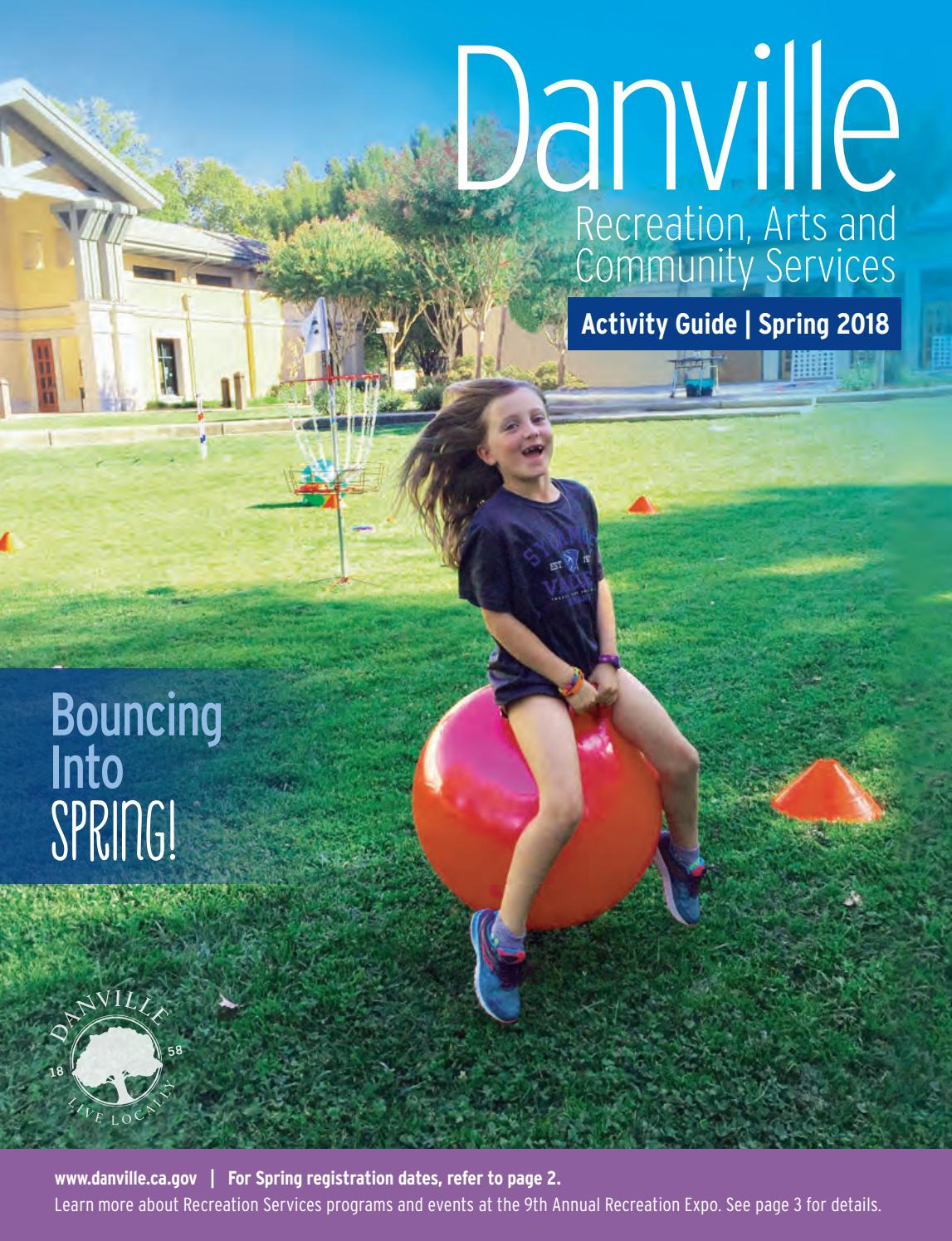 8558370c1bdc Danville Activity Guide - 2018 Spring by Town of Danville - issuu