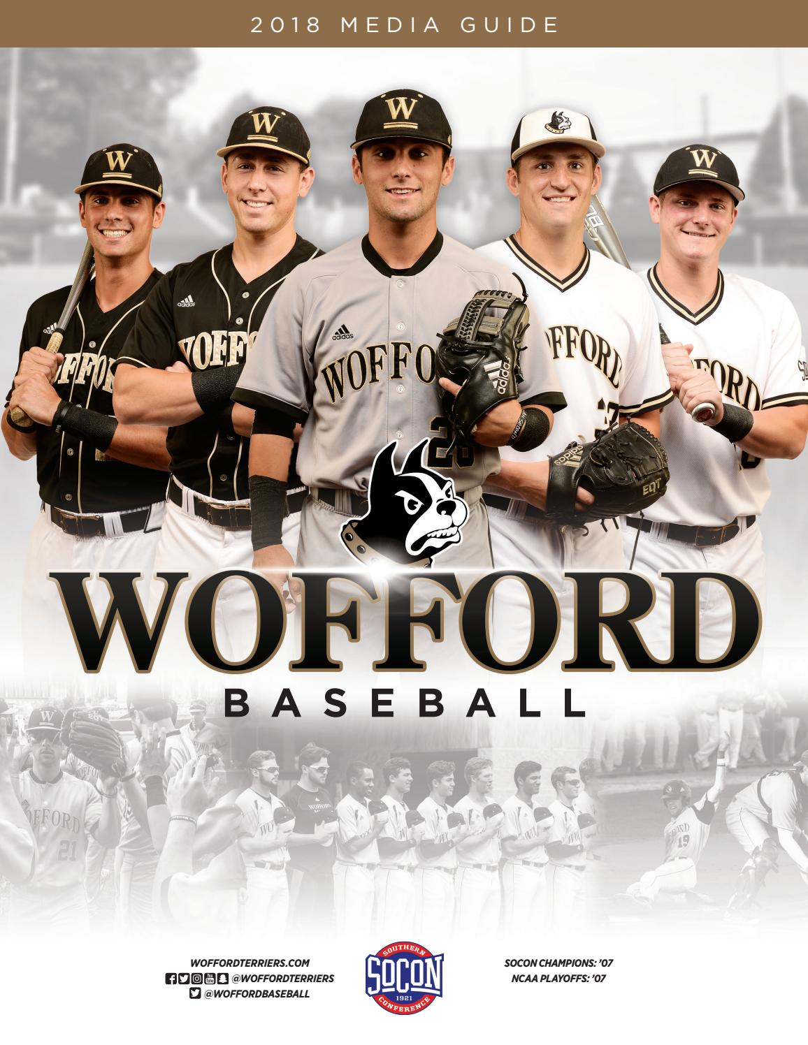 af5066d13e 2018 Wofford Baseball Media Guide by Wofford Athletics - issuu