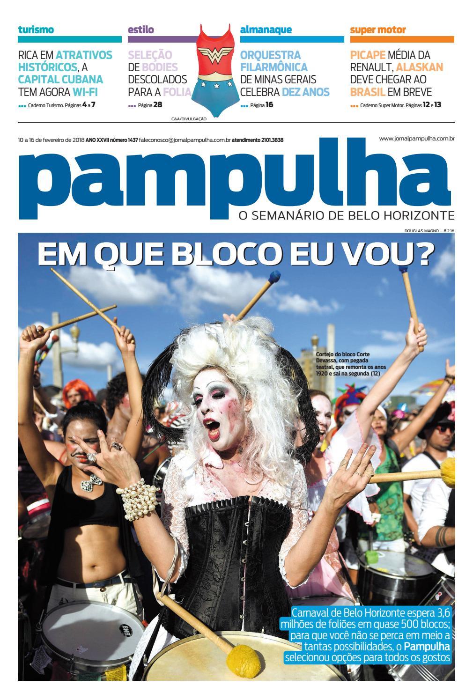 Pampulha - 10 a 16 de fevereiro de 2018 by Tecnologia Sempre Editora - issuu 139d1dd7df138