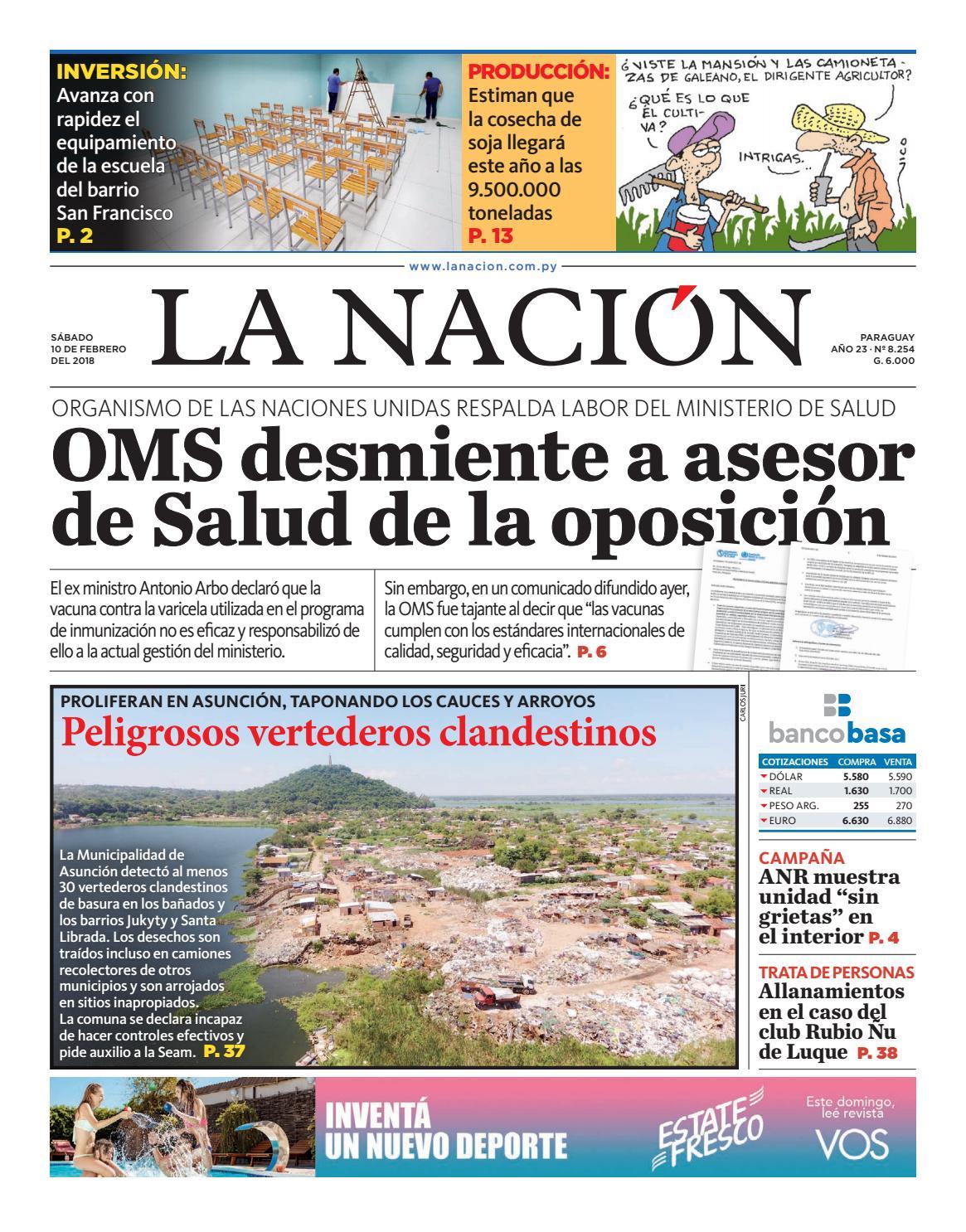 DIARIO LA NACIÓN - EDICIÓN 8.254 by La Nación - issuu