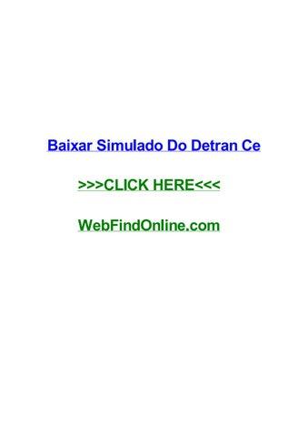 2013 SIMULADO BAHIA BAIXAR DETRAN DO