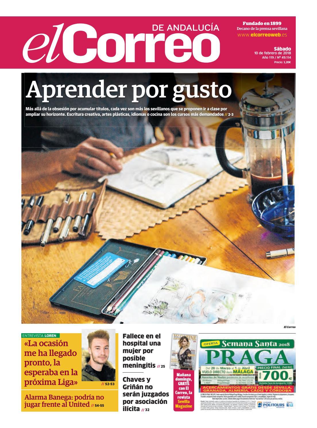 10.02.2018 El Correo de Andalucía by EL CORREO DE ANDALUCÍA S.L. - issuu 9d10cb438f5