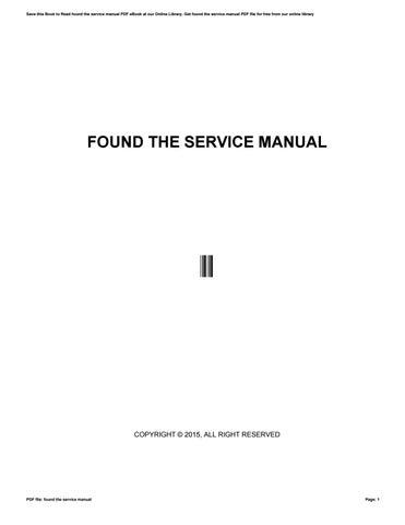 found the service manual by inclusiveprogress56 issuu rh issuu com find service manual for honda cl70 find service manual for 1993 club car 36v