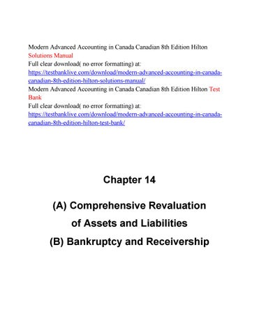 Modern advanced accounting in canada canadian 8th edition hilton modern advanced accounting in canada canadian 8th edition hilton solutions manual full clear download no error formatting at fandeluxe Images