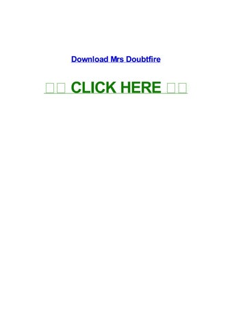 mrs doubtfire movie download