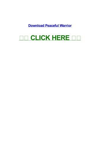 peaceful warrior full movie