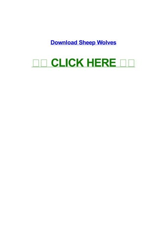 sheep wolves by susanngfad - issuu