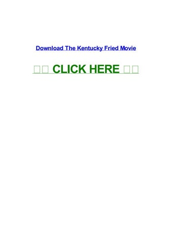 kentucky fried movie download