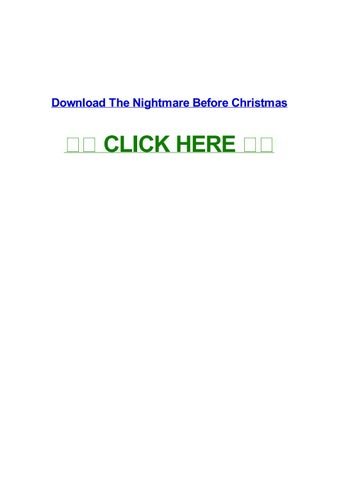 download the nightmare before christmas the nightmare before christmas english subtitles streaming high quality the nightmare before christmas film watch - Nightmare Before Christmas Watch Online