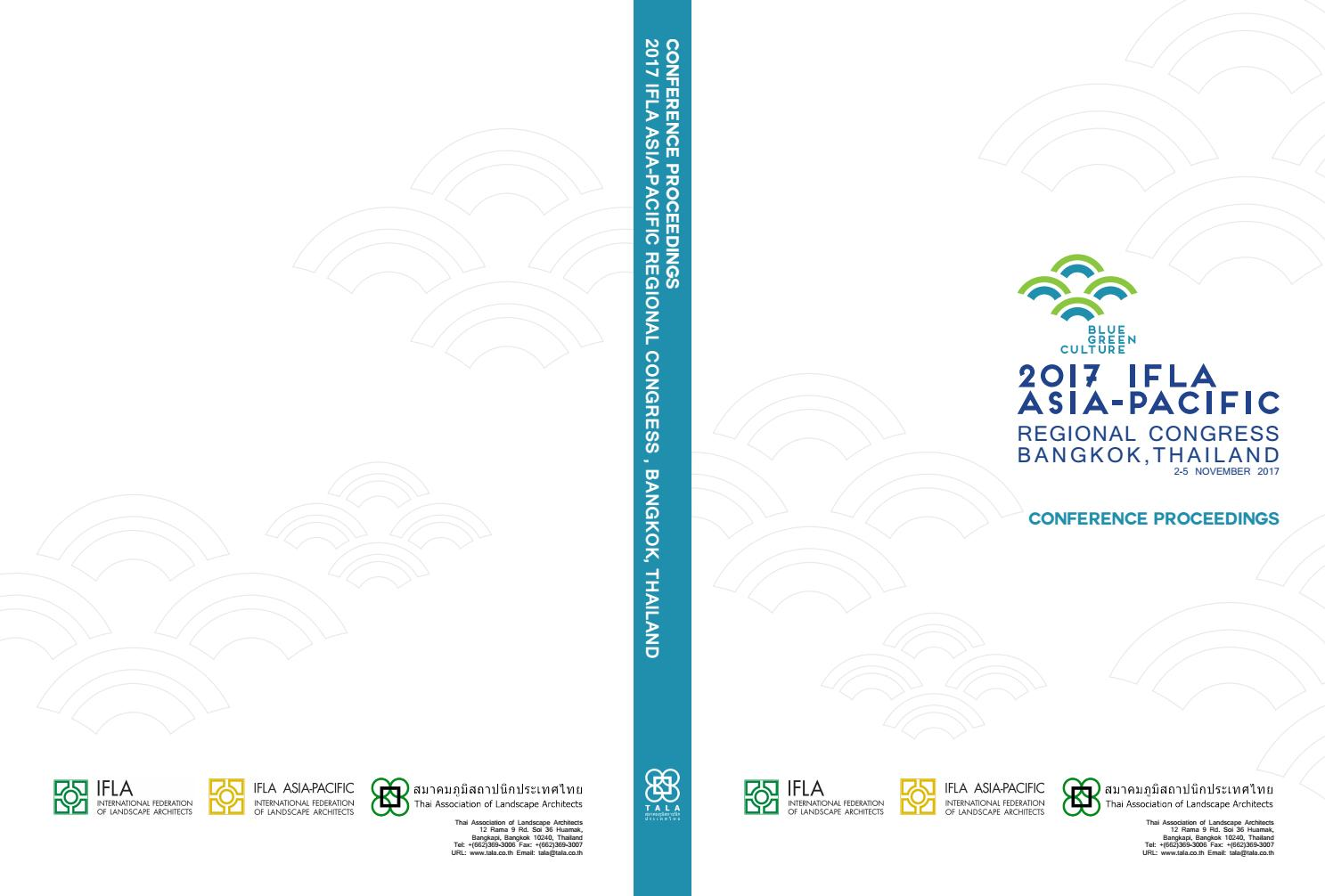 ifla apr proceeding book by charaspim boonyanant issuu
