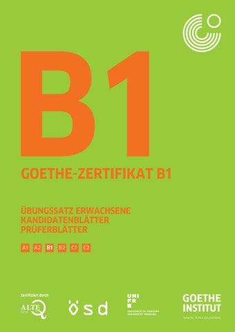 B1 Uebungssatz Erwachsene By Jiří Hrdý Issuu