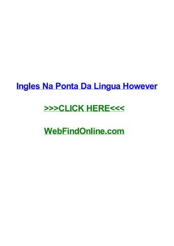 Ingles Na Ponta Da Lingua Pdf Gratis