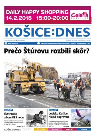 KOŠICE DNES 12.2.2018 by KOŠICE DNES - issuu 7741d2488ad