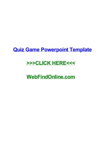 Quiz game powerpoint template by dreweraf issuu quiz game powerpoint template quiz game powerpoint template quebec marcacao de consultas e exames iamspe normas abnt 2015 introduo curso de jornalismo em toneelgroepblik Image collections