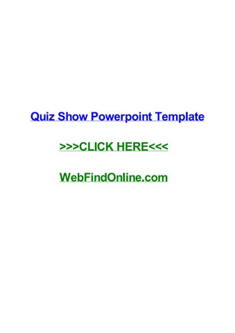 Quiz show powerpoint template by dreweraf issuu quiz show powerpoint template quiz show powerpoint template stratford on avon cursos automao de processos art 477 clt contagem do prazo curso de mega hair toneelgroepblik Choice Image