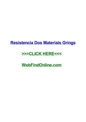 Resistencia dos materiais grings by davidxgfz issuu page 1 fandeluxe Image collections