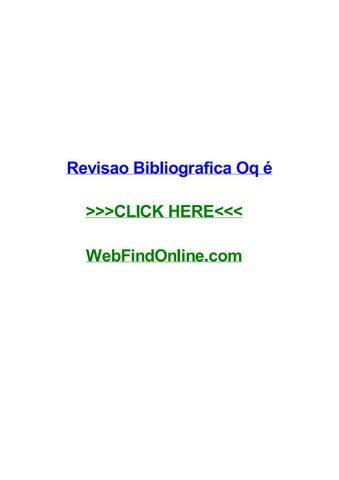 revisao bibliografica oq г© by monicalwdqf issuu