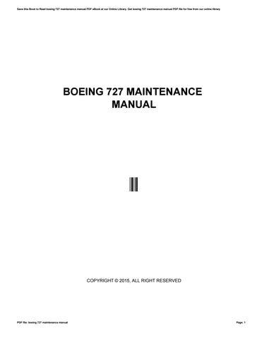 boeing 727 maintenance manual by dfg629 issuu rh issuu com Boeing 757 Boeing 707