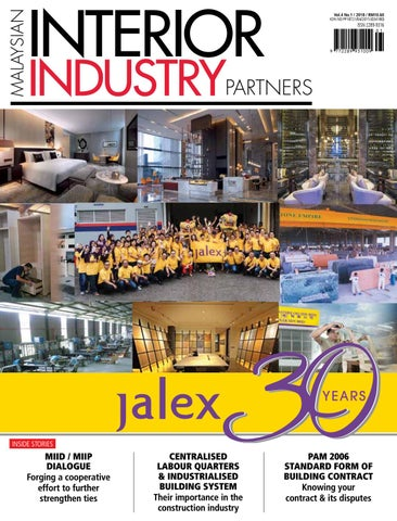 Malaysian Interior Industry Partners (MIIP) vol  4 no  1- 2018 by