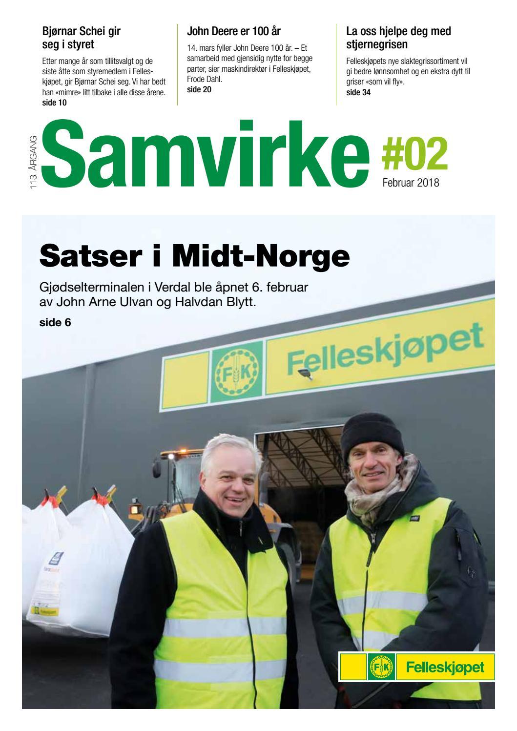 7f83de6a Samvirke 2 18 by Felleskjøpet Agri - issuu