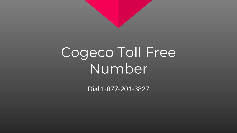 Cogeco toll free number