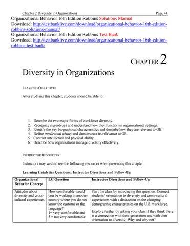 Robbins Judge Organizational Behavior 13th Edition Pdf Files
