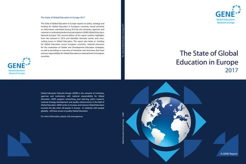 State of global education 2017 by Slovak Agency for