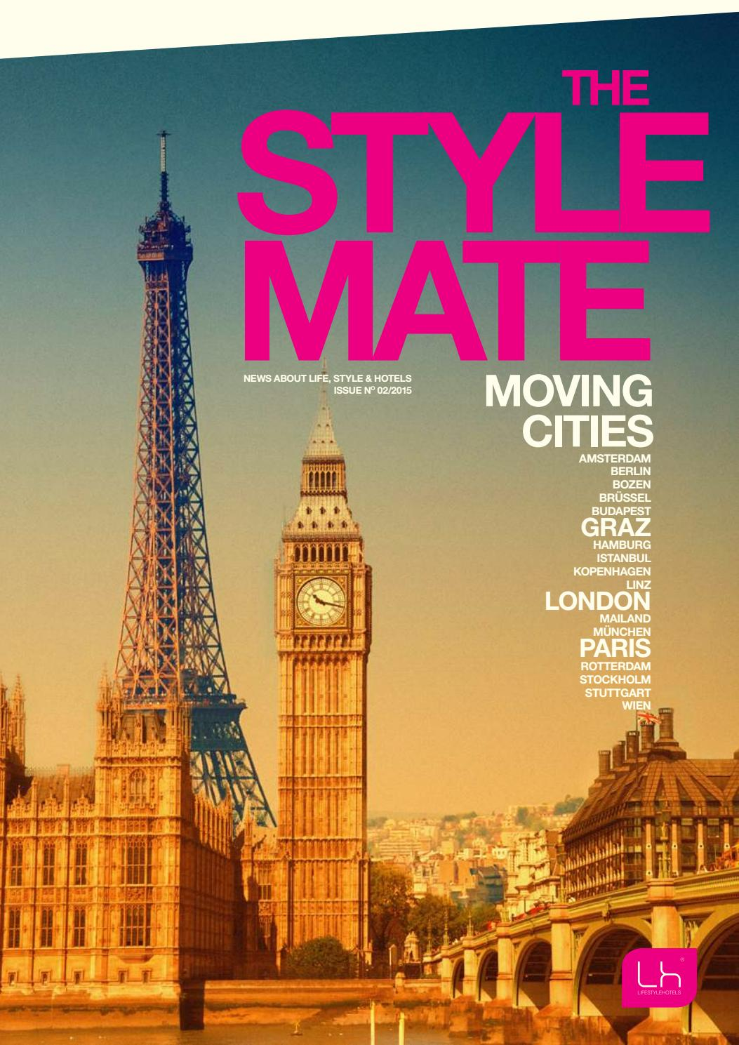 LIFESTYLEHOTELS Magazin |THE STYLEMATE, Issue No 01/2015, Moving ...