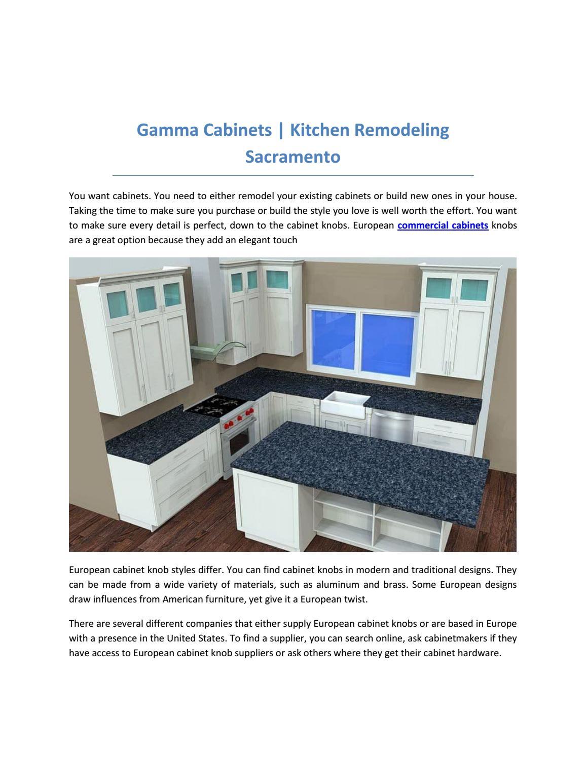 Gamma Cabinets Kitchen Remodeling Sacramento By Gammacabinetsusa