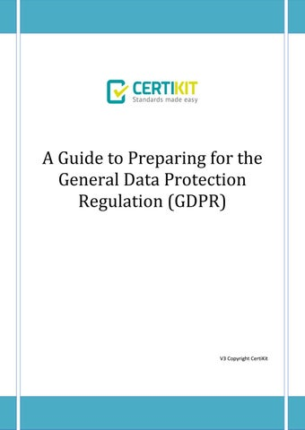 86f205e636af Certikit a guide to preparing for the gdpr by CertiKit Limited - issuu