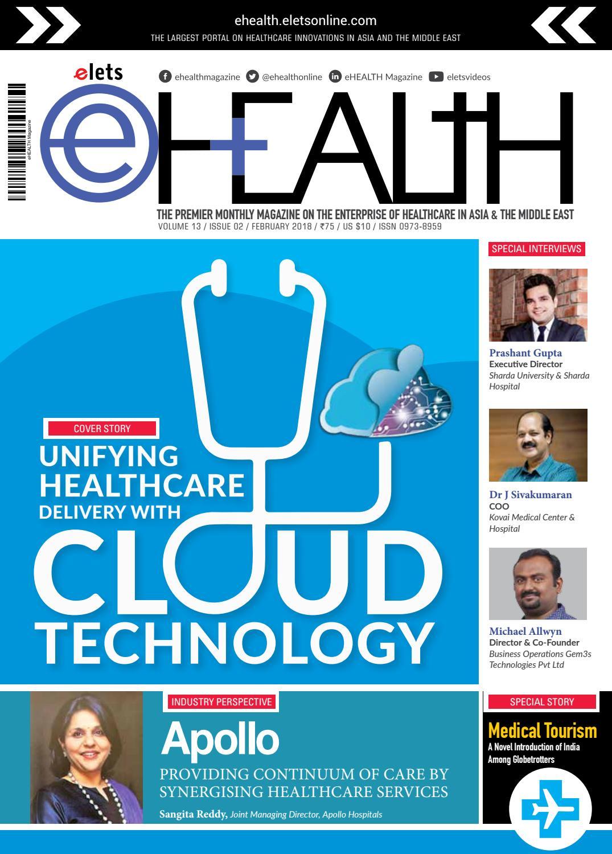 Ehealth Magazine February 2018 by eHealth Magazine - Elets