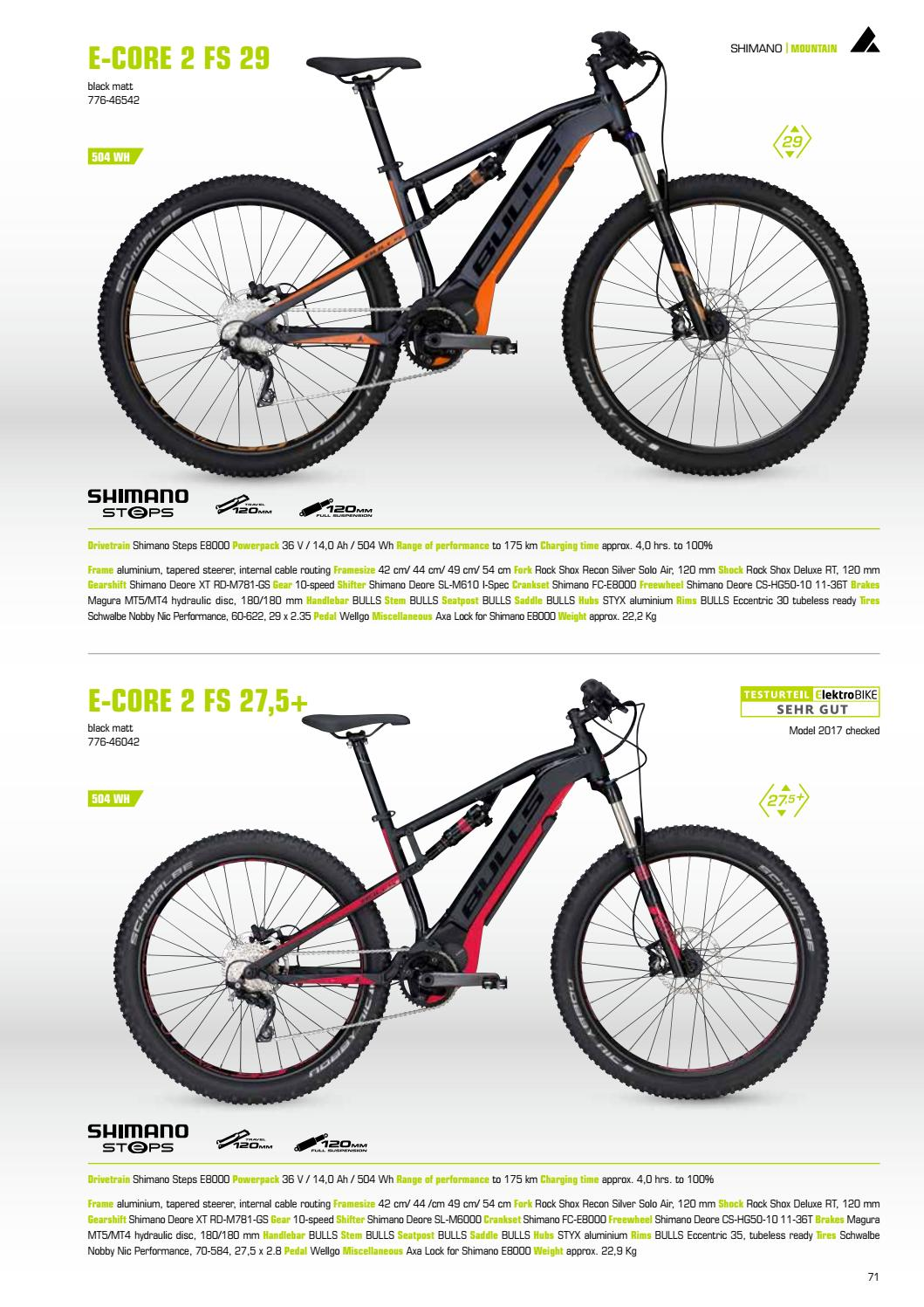 Catalogo Bulls e-bike 2018 by ebikemag com - issuu