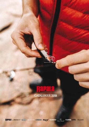 45fc43b3728a9 Catalogue Rapala 2018 by RAPALA FRANCE - issuu