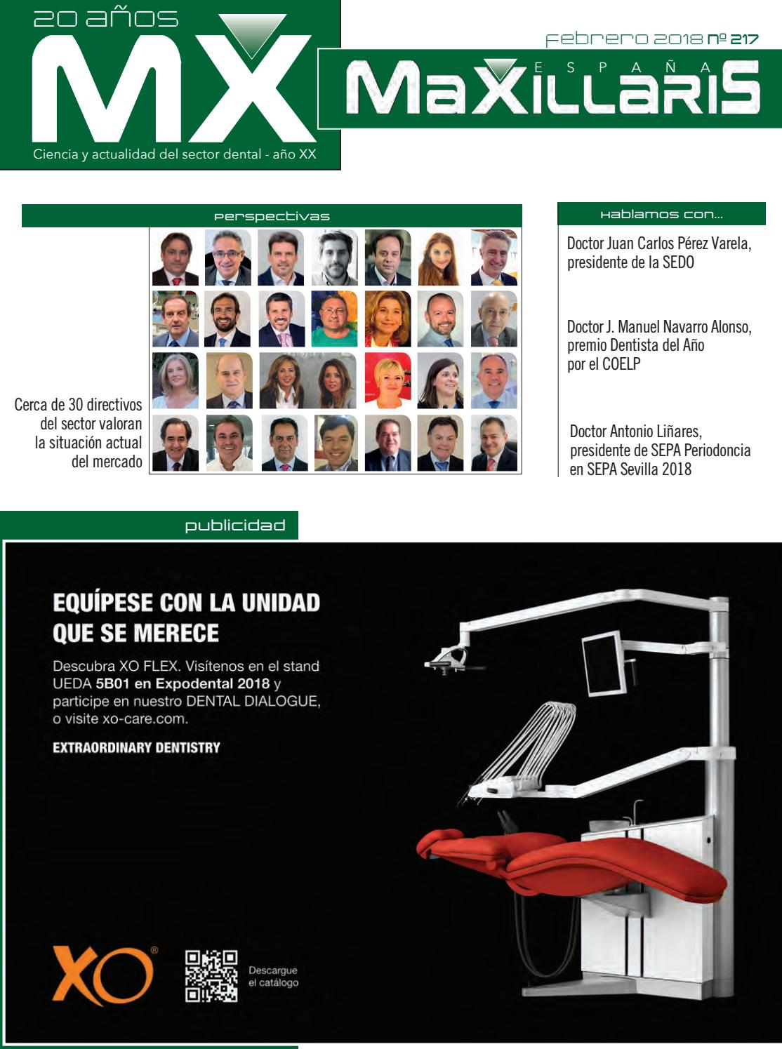 a3152f7f7efdc Revista dental MAXILLARIS febrero 2018 by CYAN EDITORES
