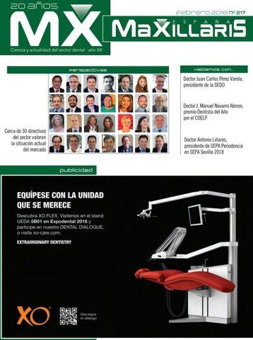Revista dental MAXILLARIS febrero 2018 by CYAN EDITORES c4d3c2c3fdab