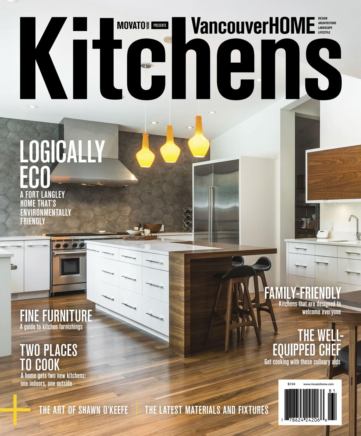 Vancouver Home - Kitchens 2018 By Home In Canada