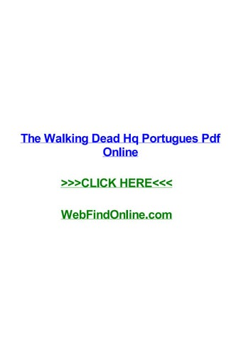 Quadrinhos dead portugues walking the pdf
