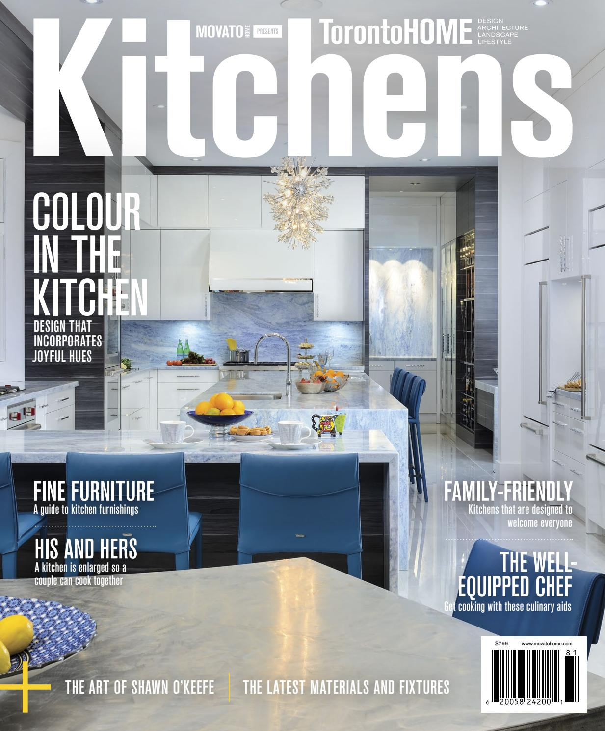 Toronto home kitchens 2018 by home in canada design ▫ architecture ▫ landscape ▫ lifestyle issuu