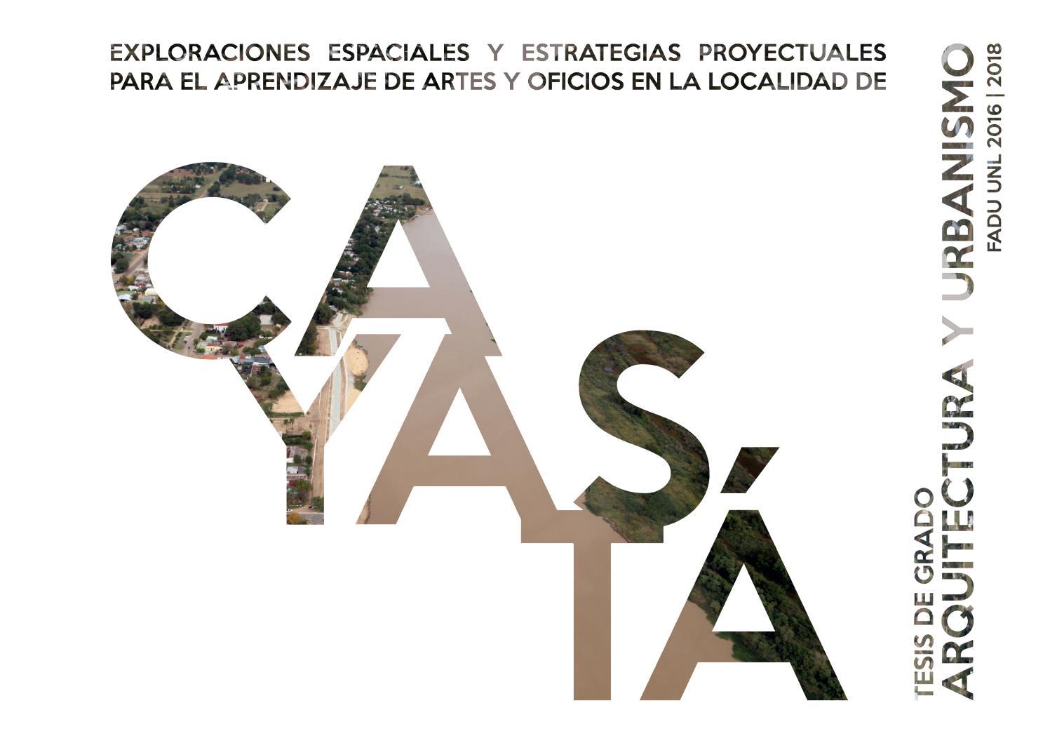 Tesis Arquitectura Y Urbanismo 2018 Fadu Unl By Anamagdalen