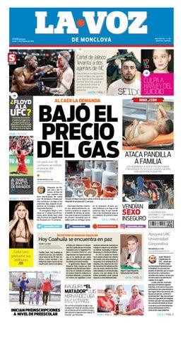 16977c0c53 Periodico digital 12 de febrero 2018 by LA VOZ Monclova - issuu