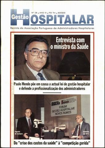 Gestão Hospitalar - Nº28 6e79255909590