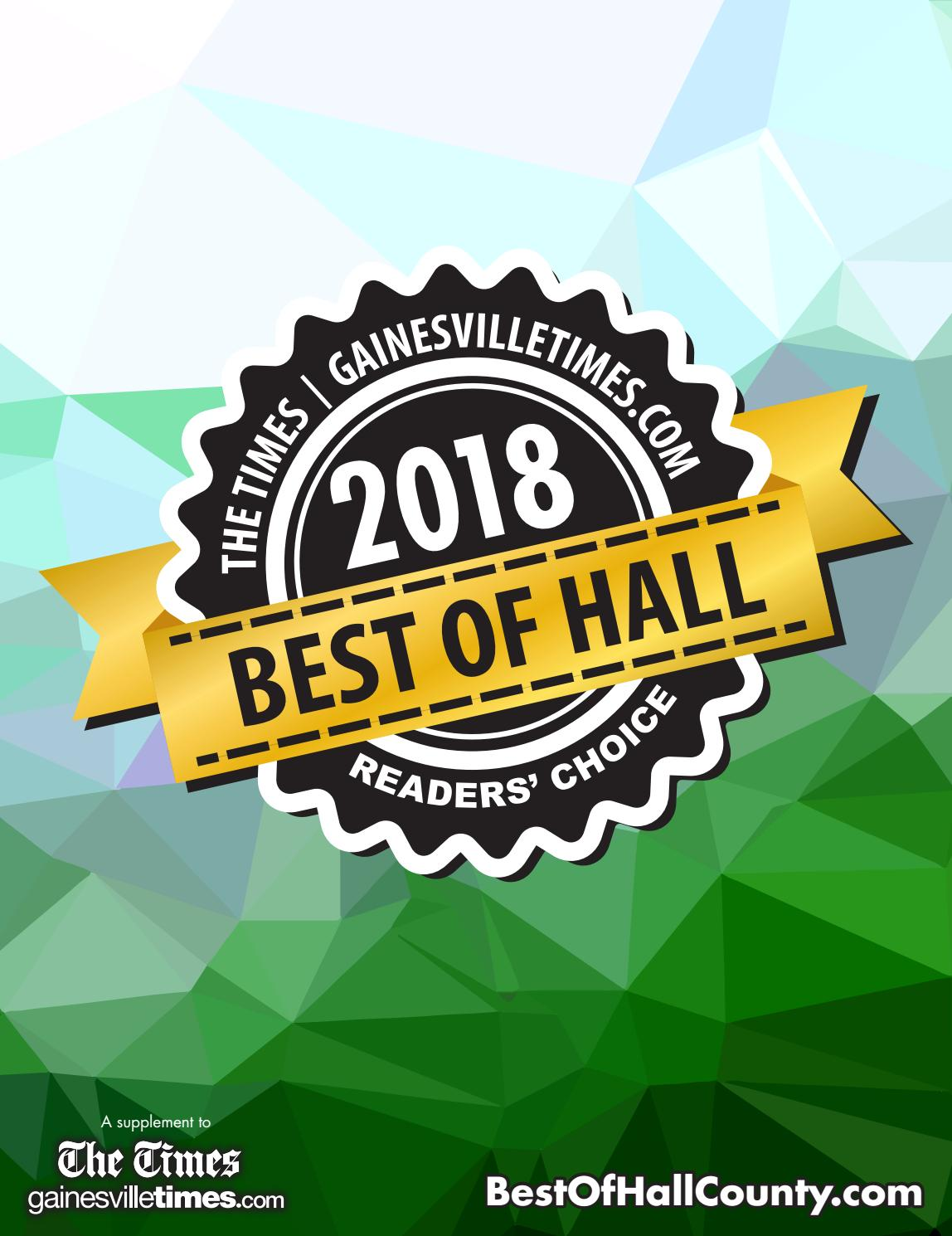 Best of Hall 2018 by The Times - issuu