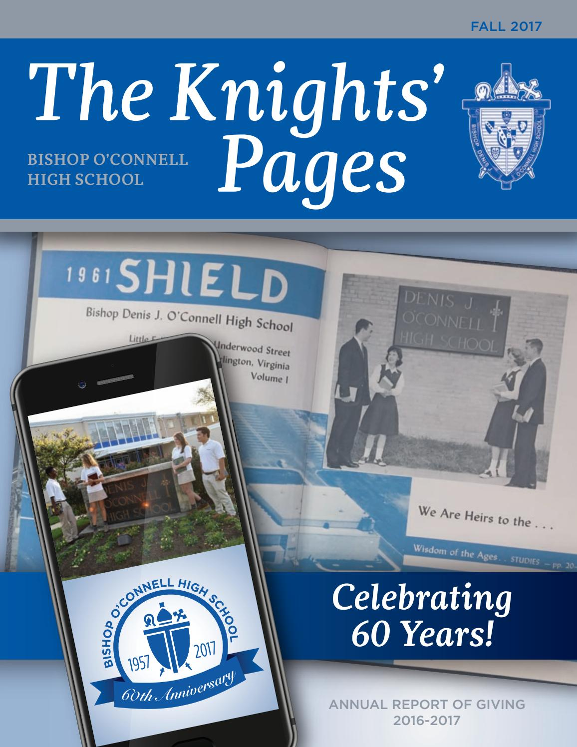 Knights\' Pages - Fall 2017 by Bishop O\'Connell - issuu