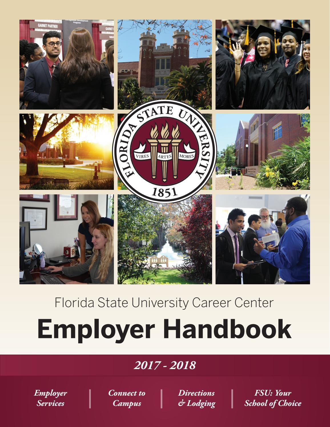FSU Employer Handbook 2017-2018 by Florida State University