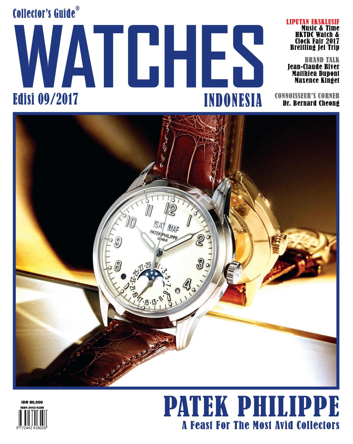 COLLECTOR S GUIDE WATCHES INDONESIA EDISI 09 2017 By