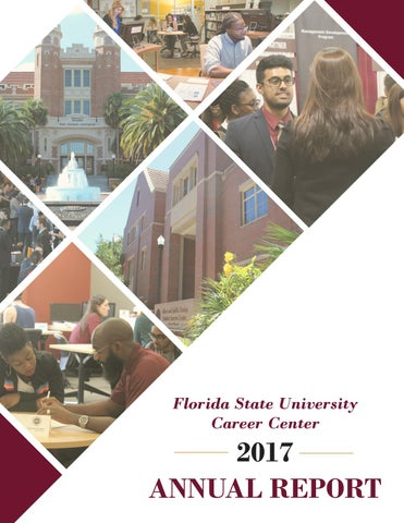 FSU Career Center Annual Report 2017 by Florida State