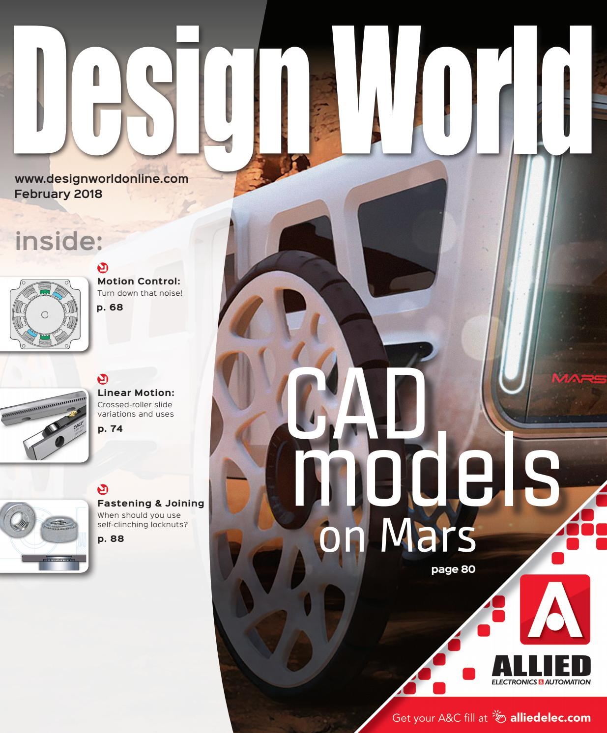 Design World February 2018 By Wtwh Media Llc Issuu Linearizing Circuit For Thermocouples B2b Electronic Components