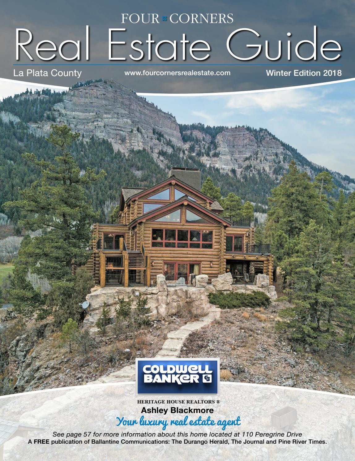 Four Corners Real Estate Guide Winter 2018 By Ballantine Guten Inc Dyer Green White Shirt Communications Issuu