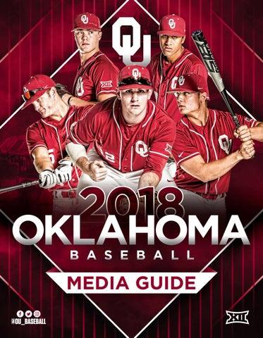 3878defacc4e04 2018 Oklahoma Baseball Media Guide by OU Athletics - issuu