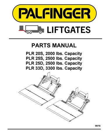 interlift plr liftgate parts manual by the liftgate parts co 2008 dodge grand caravan wiring diagram interlift liftgate wiring diagram